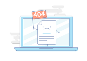 Error 404 : Page not found